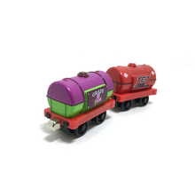 T0149 new diecast magnetic Thomas & Friends alloy sodor grape jam and JET fuel transport Tanker trucks children toy