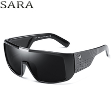 SARA NewYear 2018 Dragon Sunglasses Men Sport Goggle Sun Glasses Windproof Shield Frame Brand Mens sunglass vintage gafas oculos(China)