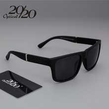 Brand New Polarized Sunglasses Men Black Cool Travel Sun Glasses High Quality Fishing Eyewear Oculos Gafas PL257(China)