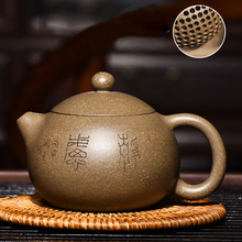 180cc Authentic Yixing Teapot Master Handmade Chinese Healthy Purple Clay Kung Fu Tea Set Dahongpao Tea Purple Sand Xi Shi Pot