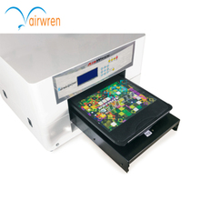 A3 digital flatbed printer Clear image textile ink printer multifunctional printer T-shirt printer
