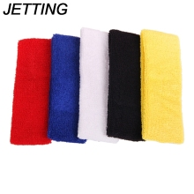 JETTING Outdoor Sports Ball Games Tennis Sweatbands Forehead Head Hair Sweat Band Elastic Cloth Cotton GYM Yoga Fitness HeadBand