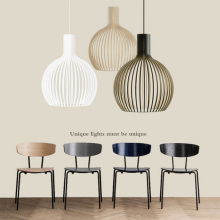 Nordic creative personality bar restaurant light simple modern corridor aisle single head iron art birdcage pendant