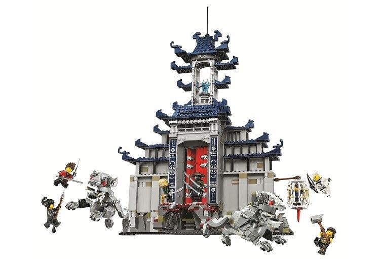 Bela 10722 Ninja Temple of The Ultimate Ultimate Weapon Model Building Block Bricks Toys Gift For Children City   70617<br>