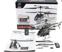 up to 20 off free shipping  low price WL S215 iPhone Andoird Control 3.5CH RC Mini Gyro Camera i-Helicopter with 2GB