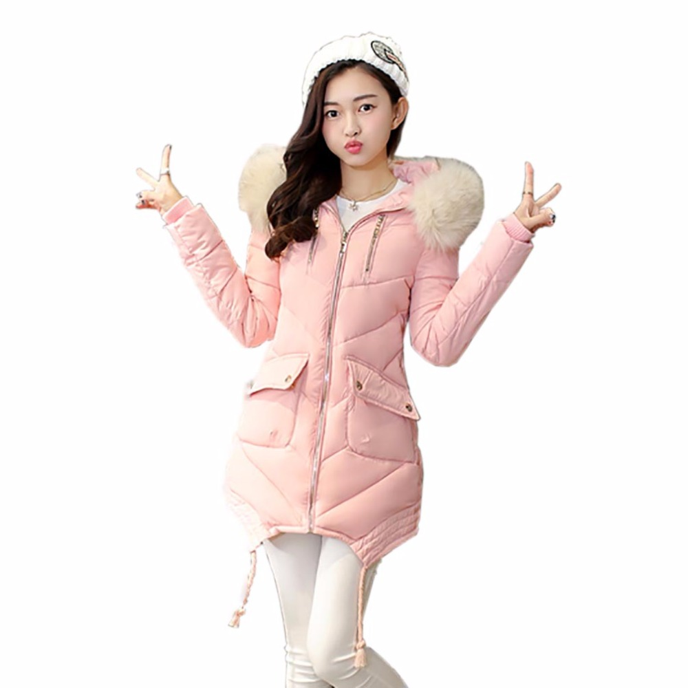 Tengo Winter Fashion Women Down Parka Imitation Fur Collar Loose Coat Outwear Female Warm Coat Jacket Hooded Large SizeОдежда и ак�е��уары<br><br><br>Aliexpress