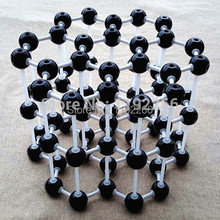 Graphite model LZ-23210 3layers 7 carbon hexagons Graphite crystal structure model Chemical teaching free shipping(China)