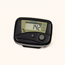 1 Piece Multi-function LCD Run Step Pedometer Walking Distance Calorie Counter Passometer For Outdoor Fitness(China)