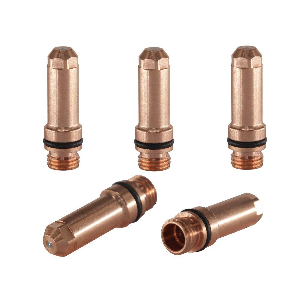 220021 Powermax Electrode Fit 200A Machine 5 PCS+Nozzle fit Torch 1pc<br>