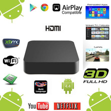 Fully Loaded Android 5.1 RK3229 Quad Core Airplay TV Box 1GB 8GB Unlocked UHD 4K Streaming Google Media player pk x96(China)