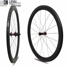 2017 Yuan'an wheelsets 25mm width 50mm depth DT SWISS 350sHub tubeless carbon road bike wheels with pillar 1432 spoke(China)