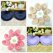 50 PAIRS/LOT Bra Cups Sponge Foam BUST Pad Chest Interlinings Linings SEWING ACCESSORIES(China)