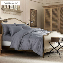 High-end Hotel Bedding 100% Egyptian long-staple cotton Bedding set Bedding Duvet cover set Gray. -color(China)