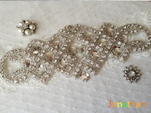 handmade patch Rhinestone applique,couture crystal applique,wedding applique,beaded patch for wedding sash,bridal accessory,