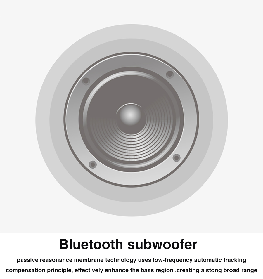 Speaker Bluetooth Portable Outdoor Bicycle Subwoofer Bass Speakers 2200MAh power bank +LED light +Bike Mount