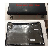 NEW Laptop top shell for Asus K52 A52 X52 K52f K52J K52JK A52JR X52JV A52J LCD Back Cover / Bezel Case/Hinges(China)