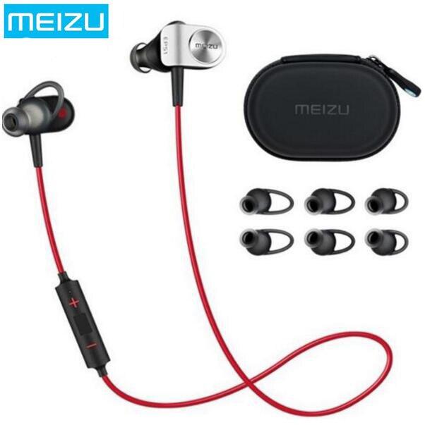100% Original MEIZU Earphone EP51,In-ear Bluetooth Earphone For Sports Running,Anti-sweat Design,Very Light Weight,Music Control<br>