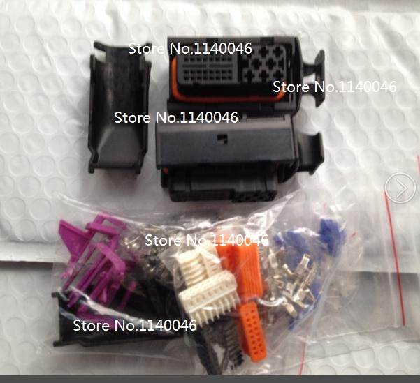 1pcs H1203- 40 PIN free shipping DJ7401-1/3.5-21 automotive and electrical AP TYO housing female connector<br>