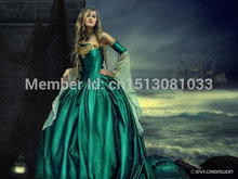 Cersei Game of Thrones Medieval Corset Gown Custom/Southern Belle Gown Reenactment Theater Costume