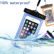 Waterproof Mobile Phone Bags with Strap Dry Pouch Cases Cover For Motorola Moto G4 Plus / X4 / G4Plus Swimming Case New