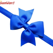 Girls Headband SUNWARD Delicate 2017 girls hairband hair accessories Kids Lace Bow Flower Hair Band Accessories Headwear W20
