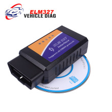 Promotion ELM327 V 2.1 Bluetooth Works On Android Torque Elm 327 BT V2.1 Interface OBD2 / OBD II Auto Car Code Reader
