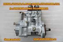 Denso Genuine &New Common Rail Pump 094000-0710  094000-0711 for SINOTRUK HOWO VG1246080050