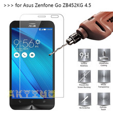 2.5D Tempered Glass For Asus Zenfone Go ZB452KG case Screen Protector for Asus Zenfone Go ZB452KG 4.5 inch with Glass film case