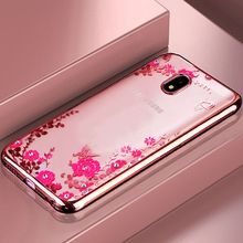 NEW TPU Flower case For Samsung Galaxy S8 Plus S3 S4 S5 S6 S7 Edge A3 A5 A7 J1 2016 J3 J5 2017 J7 J330 J530 J730 Cover Back Case(China)