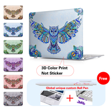 Print Eagle Decorate Pattern Cover Case For Mac MacBook Pro 13 15 Retina Air 11 12 13.3 inch Laptop Shell Notebook Accessories