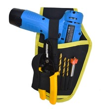 600D Oxford Cloth Electrician Hand Drill Holder Tool Bag Waist Belt Pouch Bag Driver Drill Cordless Power Drilling Toolkit(China)