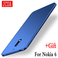 Original JCDA Brand For Nokia6  Nokia 6 Mobile phone case Silicone scrub cover Luxury Silm Hard Frosted PC Back cases