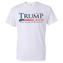 2016 Summer Unisex 100% Cotton T Shirt Make America Great Again Printed Short Sleeve Top Tees Casual Womens and Mens Shirts(China)