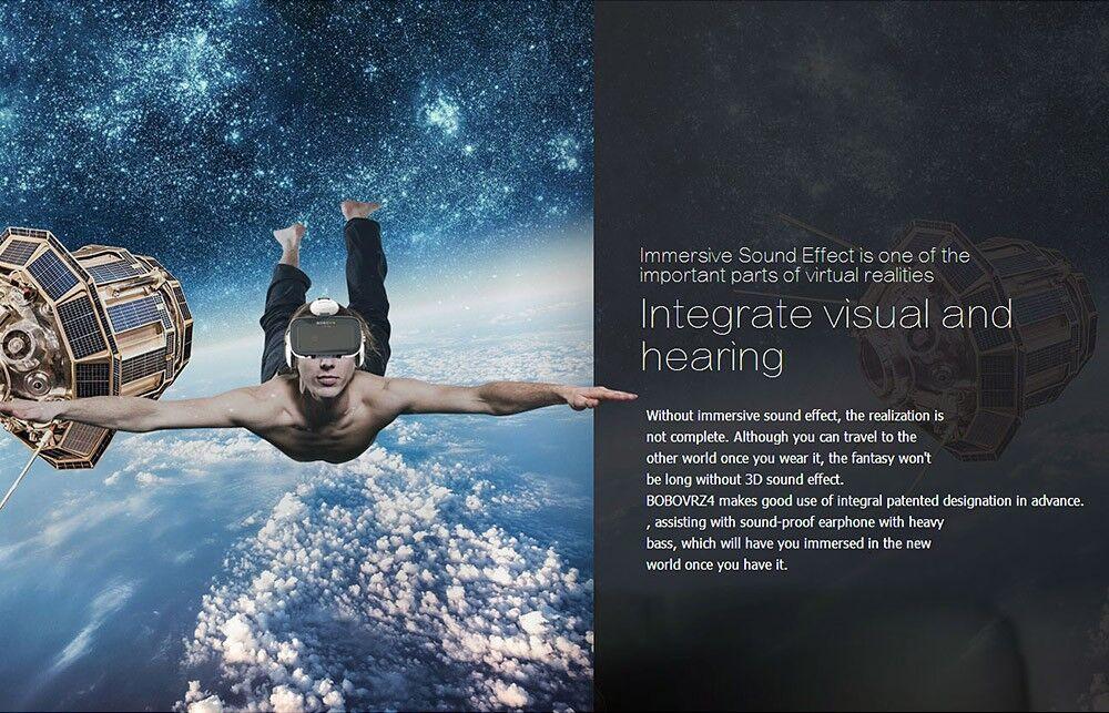 Virtual Reality Google Cardboard VR BOX Original bobovr Z4/ Z4 Mini 3D glasses+Bluetooth Controller for 4-6' Smart Mobile Phone 14