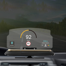 Multifunction Universal Mobile Phone Car Holder Windscreen Projector HUD Head Up Navigation Display Holder For Iphone 6 Xiaomi