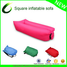 good quality ultralight sleeping bag Air Sofa Hangout Lazy Bag Inflatable Air Bed Waterproof Beach Bed Laybag sac de couchage