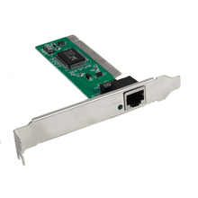 High Quality New PCI Express Extender Riser Card PCI TO RJ45 Ports PC Computer Analyzer Motherboard Network Card 100M