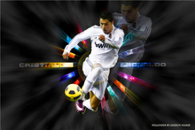 Cristiano Ronaldo Poster Football Madrid Posters Ronaldo Wall Sticker CR7 Wallpaper World Cup Stickers Soccer Canvas Art #2263#(China)