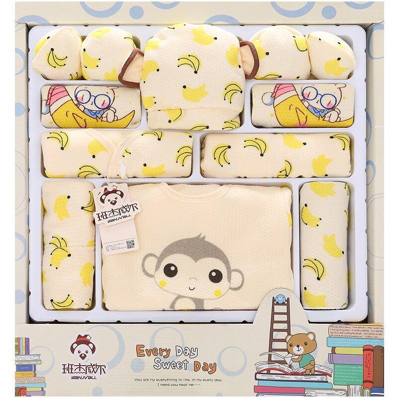 2016 Cartoon Monkey Cotton Baby Clothes Newborn Gift Sets Newborn Baby Clothing Sets Boys Girls Baby Products<br><br>Aliexpress