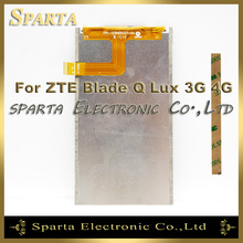 Mobile Phone LCD Display For ZTE Blade Q Lux Qlux 4G 3G LCD Display Screen(China)