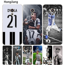 HongJiang Italy famous soccer 21 Paulo DYBALA Cover phone Case for Meizu M5 M5S M2 M3 M3S MX4 MX5 MX6 PRO 6 5 U10 U20 note plus(China)
