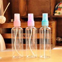 Travel  of cosmetic jars 100ml eco-friendly Plastic atomizing spray perfume bottle mask bottle atomizer bottle