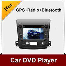 Free shipping with8'' touch screen for OUTLANDER dvd player,GPS navigater,radio,bluetooth,MP3,MP4,TV
