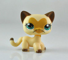 Pet Cat Animal SHORT HAIR Child Girl Figure Cute Toy Loose Xmas LP641(China)