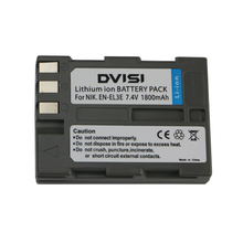 7.4V 1.8Ah EN-EL3e EN EL3e ENEL3e Rechargeable Camera Battery for Nikon D90 D700 D300 D80 D70 D50 D200 D300s D100 D70s(China)