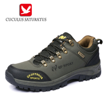 Original Men's Outdoor Hiking Shoes Boots Trekking Mountain Shoe Autumn Winter Athletic Sports Rubber Sneakers 816