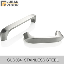 304 stainless steel Solid casting Drawer handle Wardrobe door handle,Drawing surface,No plating,Make life more texture