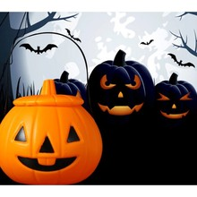 HOT Pumpkin Lantern Night Light China-Lantern Prop For Halloween Props Outdoor Party Decoration Lantern for Kids and Adult(China)