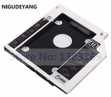 NIGUDEYANG 2nd Hard Drive HDD SSD Case Caddy Adapter for DELL Latitude E5440 E5540 E6440 E6540