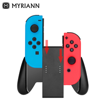 Holder For Nintend Switch Joy-Con Comfort Grip Handle Horns Bracket Support Holder 2 Joy-Con Controllers 3 colors case